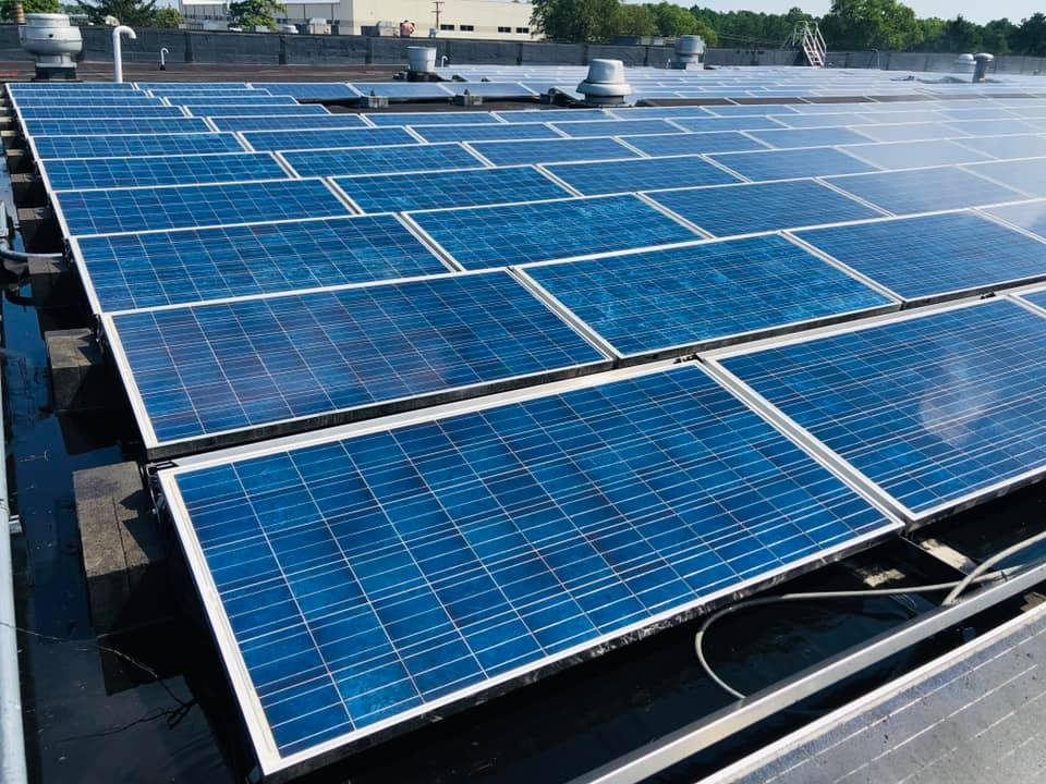 Commercial Solar Panel Cleaning NJ