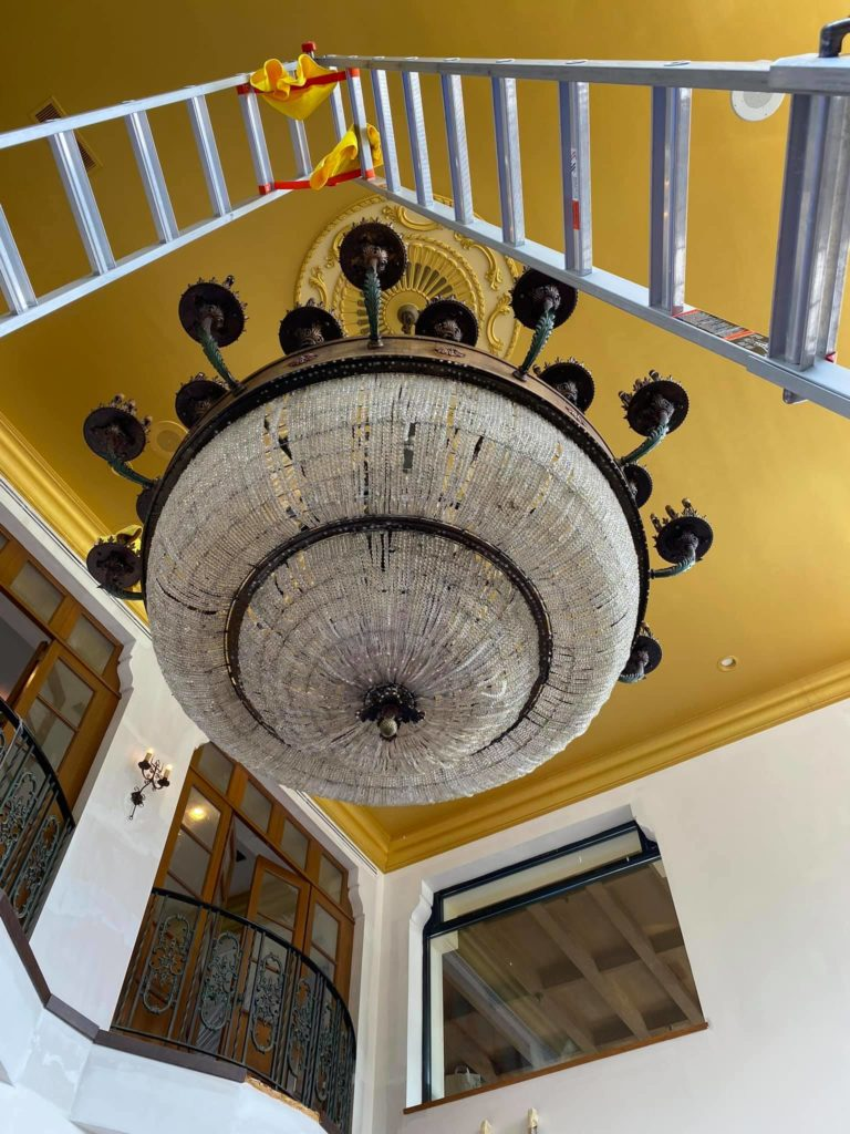 Chandelier Cleaning NJ - Clearview Washing